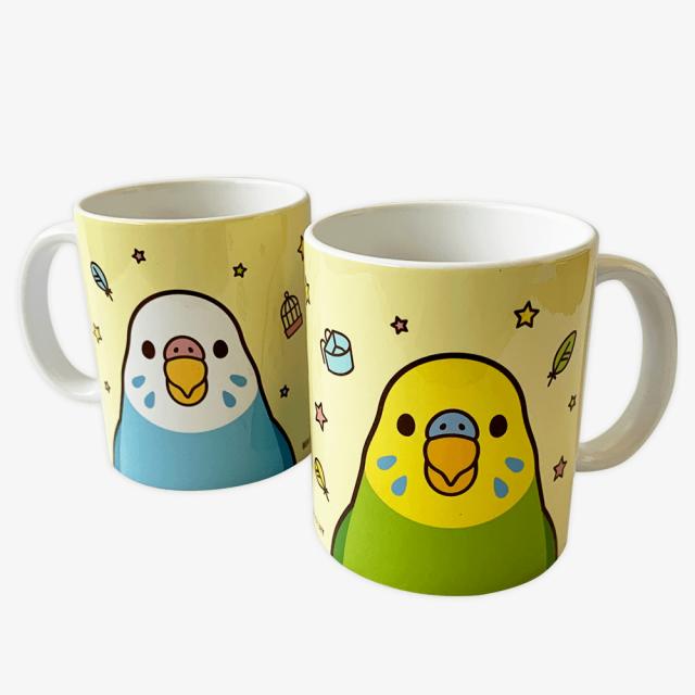 マグカップ(SMILEBIRD / セキセイインコ)