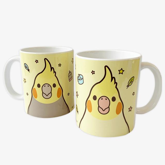 マグカップ(SMILEBIRD / オカメインコ)