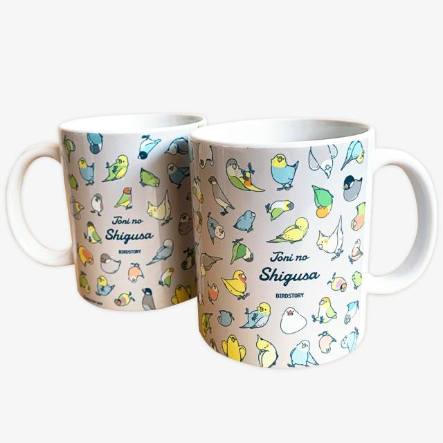 マグカップ(TORINOSHIGUSA / パターン)