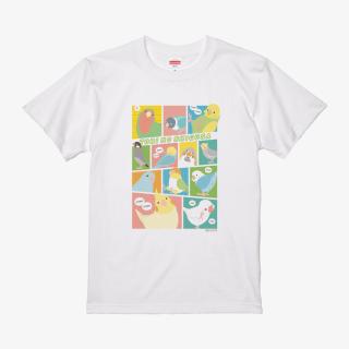 Tシャツ(TORI NO SHIGUSA / コミック / カラー)