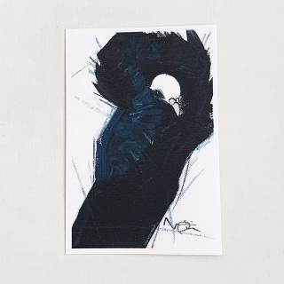 オクムラミチヨ ジャコビン鳩 ポストカード