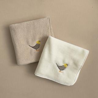 刺繍ミニタオル(オカメインコ ノーマル)