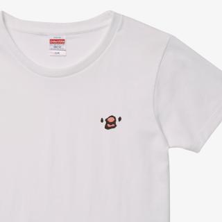 刺繍Tシャツ(amycco. / 文鳥ちゃん)