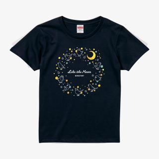 Tシャツ(月 - Like The Moon-)