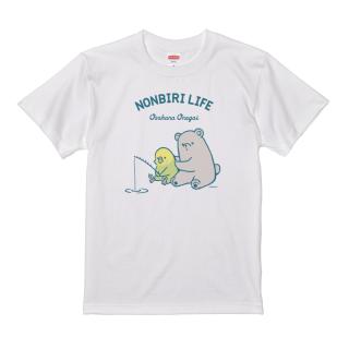 Tシャツ(NONBIRI LIFE / おさかなおねがい / セキセイインコ)