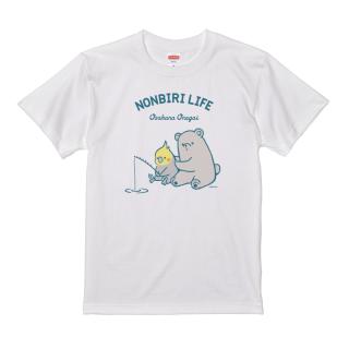Tシャツ(NONBIRI LIFE / おさかなおねがい / オカメインコ)