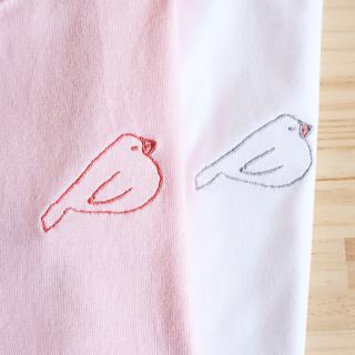 刺繍Tシャツ(amycco. / もち寝)