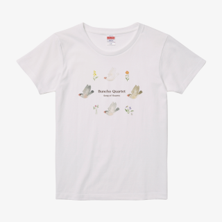 Tシャツ(文鳥院まめぞう / Buncho Quartet)