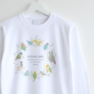 長袖Tシャツ(Natural Bird�)