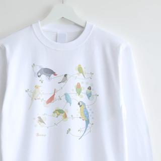 長袖Tシャツ(Natural Bird)