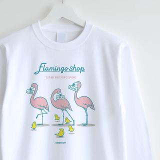 長袖Tシャツ(Flamingo shop)