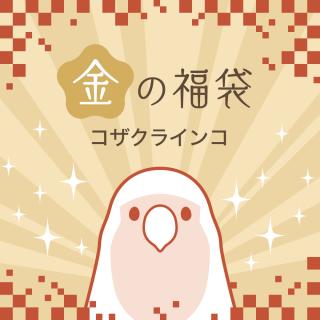 金の福袋2021(コザクラインコ)
