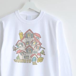 長袖Tシャツ(MY HOME IS YOUR HOME)
