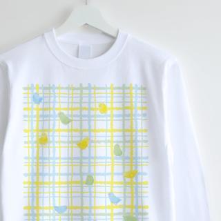 長袖Tシャツ(トリモヨウ / マメルリハ)