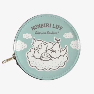 コインケース(NONBIRI LIFE / おひるねさいこう / オカメインコ)