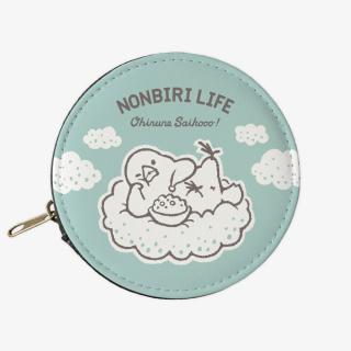 コインケース(NONBIRI LIFE / おひるねさいこう / 文鳥)