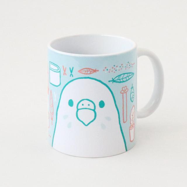 マグカップ(SMILE BIRD DAYS / セキセイインコ)