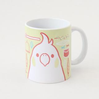 マグカップ(SMILE BIRD DAYS / オカメインコ)