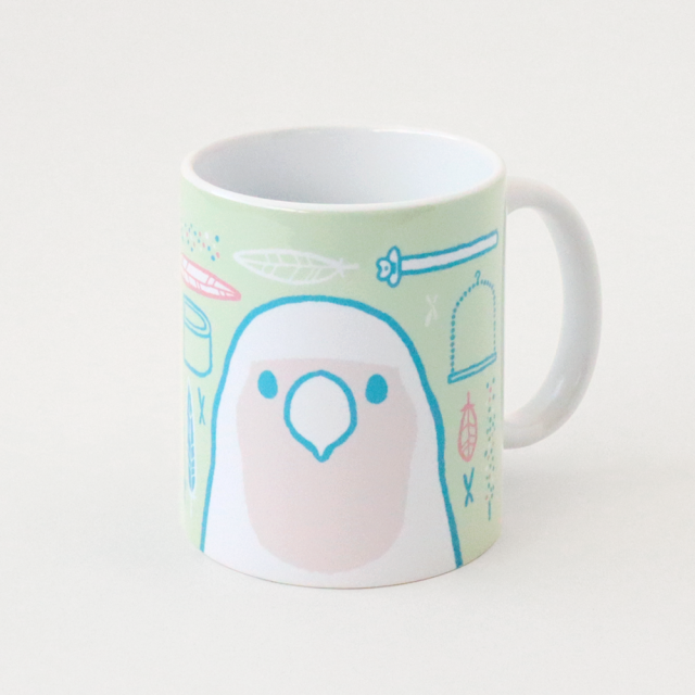マグカップ(SMILE BIRD DAYS / コザクラインコ)