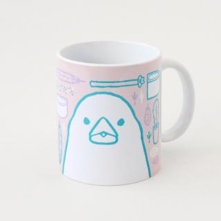 マグカップ(SMILE BIRD DAYS / 文鳥)