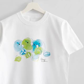 Tシャツ(オクムラミチヨ / マメルリハさんとどんぐりあめ)