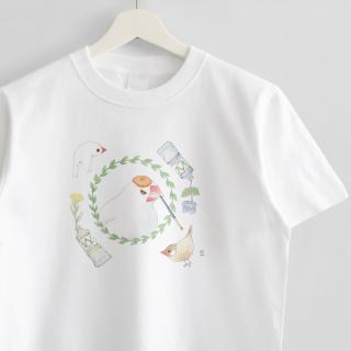 Tシャツ(文鳥院まめぞう / 私の世界)