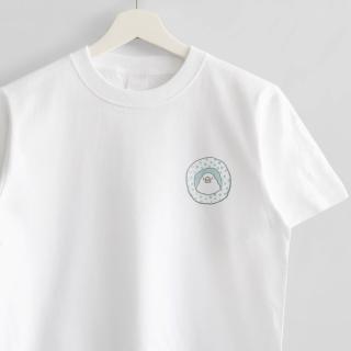 Tシャツ(amycco. / つぼ巣の中から / ブルー)