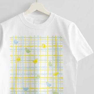 Tシャツ(トリモヨウ / マメルリハ)