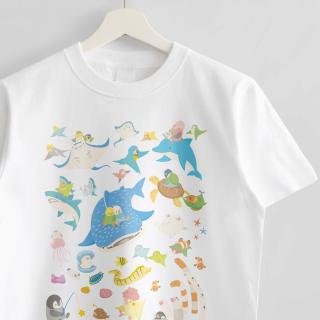Tシャツ(BIRDAQUARIUM)