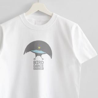 Tシャツ(BIRD DANCE / フォーゲルコップカタカケフウチョウ)
