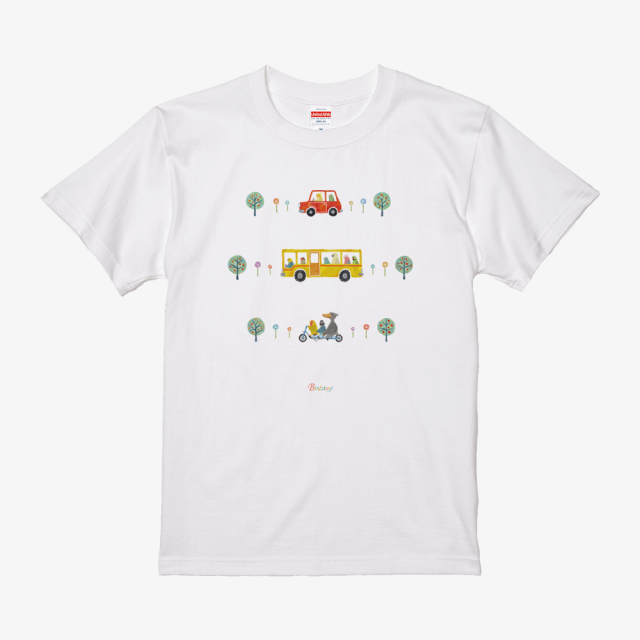 Tシャツ(Go Go Bird!)