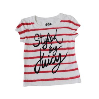 JUICY COUTURE ボーダー半袖Tシャツ