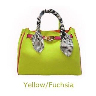 Her-ism  (Yellow/Fuchsia)