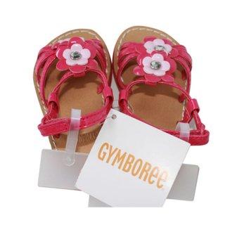 GYMBOREEジンボリー ピンクの花サンダル