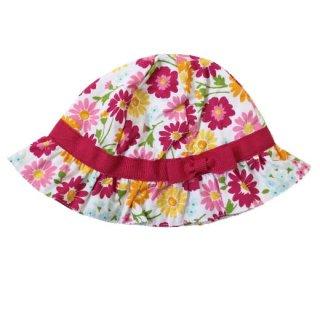 ジンボリー花柄帽子(ピンク)