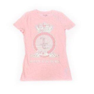 JUICY CUTUREピンク半袖Tシャツ