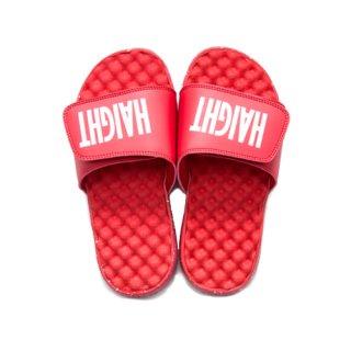 HAIGHT / Logo Shower Sandal - Red