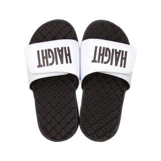 HAIGHT / Logo Shower Sandal - White