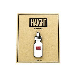 HAIGHT / Liquid Bottle Pin Badge