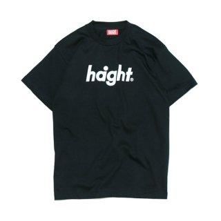 HAIGHT / Round Logo T-Shirt - Black