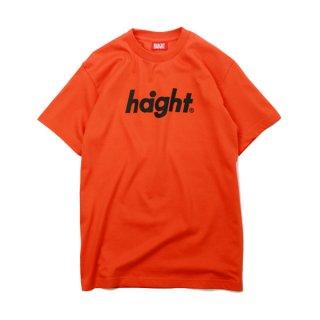 HAIGHT / Round Logo T-Shirt - Orange