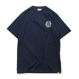 HAIGHT×GRAM / Build T-Shirt - Navy