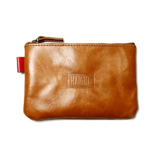 HAIGHT / Leather Pouch - Camel