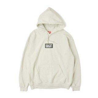 HAIGHT / Box Logo Warm Hoodie - Sand
