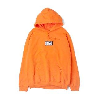 HAIGHT / Box Logo Warm Hoodie - Orange