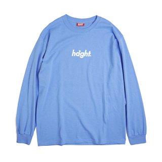 HAIGHT / Round Logo L/S Tee 18 - California Blue