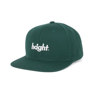 HAIGHT / Round Logo Snap Back Cap - Green