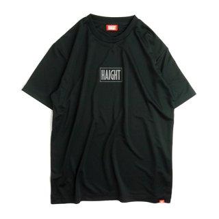 HAIGHT / Box Logo Dry Tee - Black