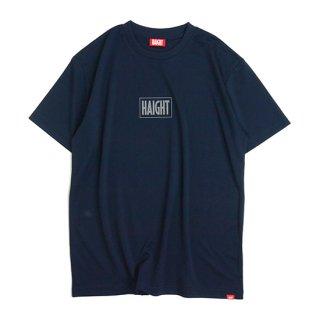 HAIGHT / Box Logo Dry Tee - Navy