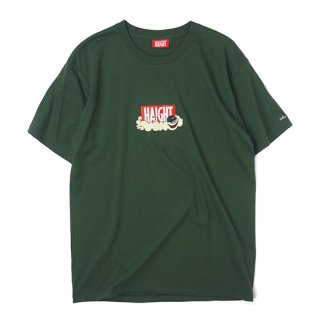 HAIGHT / HAIGHTxCleofus S/S Tee - Dark Green